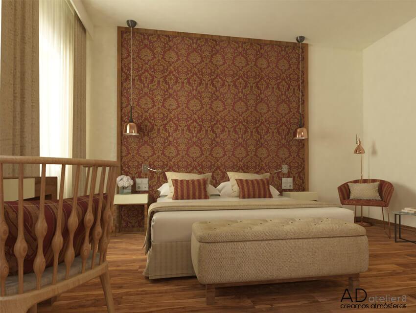 proyecto de interiorismo para un hotel urbano