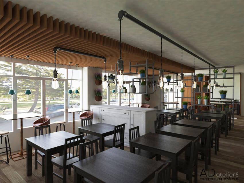 proyecto de interiorismo para un restaurante en valencia