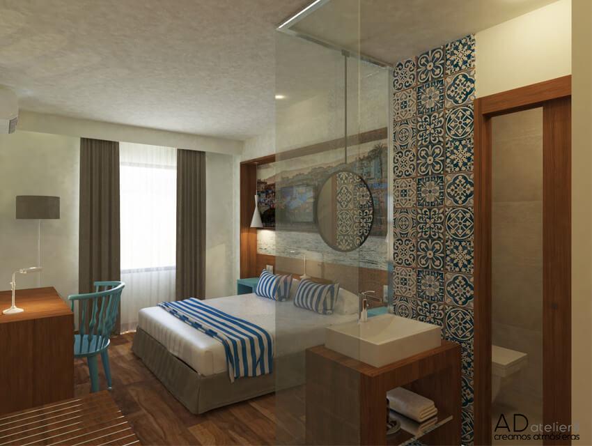 proyecto de decoración para un hotel de playa